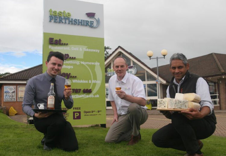 Toasting the arrival of Taste Perthshire